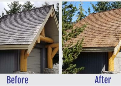 Before and After Photos of Roof - South West Roof Restoration & Repair