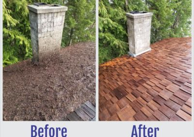 Before and After Photos of Roof - South West Roof Restoration Inc
