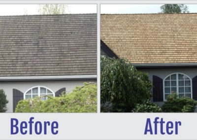 Before and After Photos of Roof - South West Roof Restoration and Repairs 8