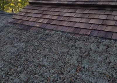 Cedar Roof Cleaning and Treatment in Muskoka, Ontario BC