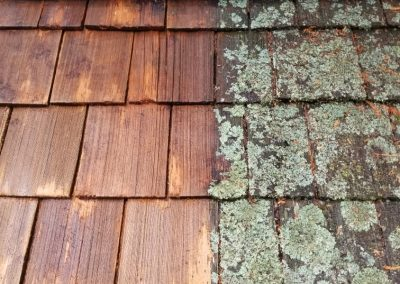 Cedar Roof Cleaning, Repairs and Treatment in Sechelt - Sunshine Coast BC